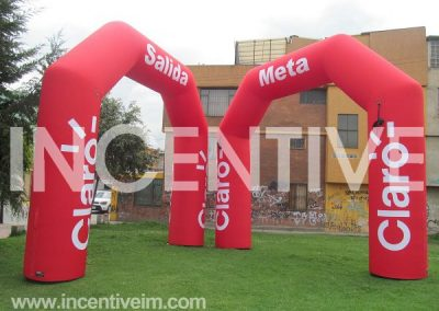 Arco Inflable-Incentive Inflables SV