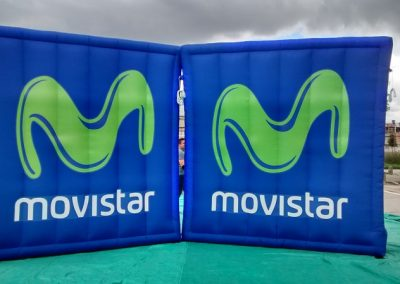 COLCHON INFLABLE MOVISTAR - INCENTIVE