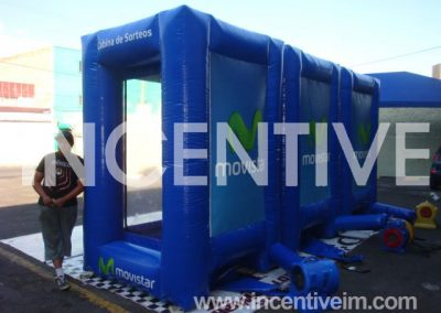 Cabina de Sorteo Movistar - INCENTIVE-