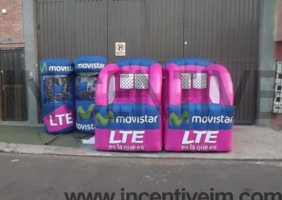 INFLABLES MOVISTAR PANAMA #4 INCENTIVE