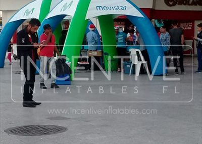 INFLALABLE TENT MOVISTAR