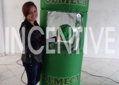 Inflable_Huracan_Olmeca (verde) -INCENTIVE-