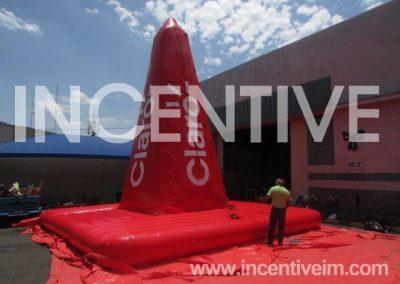 MONTAÑA ESCALADORA CLARO -INCENTIVE-