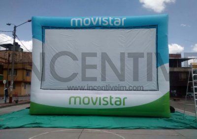 PANTALLA INFLABLE MOVISTA - INCENTIVE