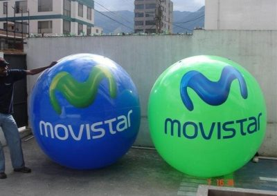 PELOTAS DE PLAYA MOVISTAR - INCENTIVE