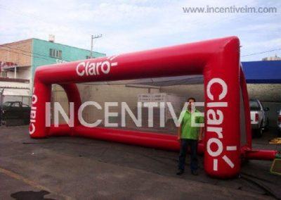 PORTERIA CLARO 1 INCENTIVE INFLABLES