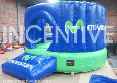 Saltarin Inflable Movistae-INCENTIVE INFLABLES