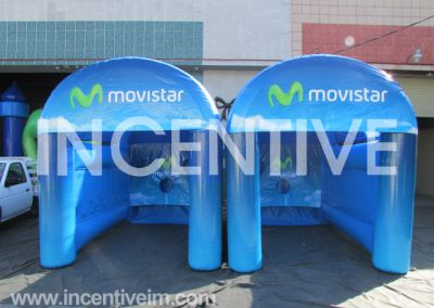 Tiragol Inflable Movistar -INCENTIVE-