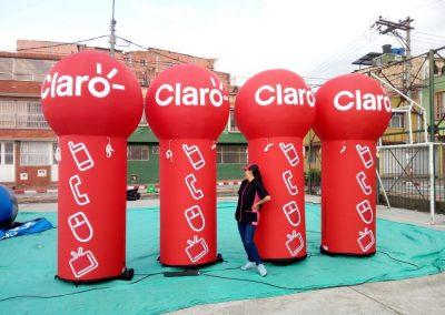 CILINDROS CLARO EL SALVADOR - INCENTIVE INFLABLES
