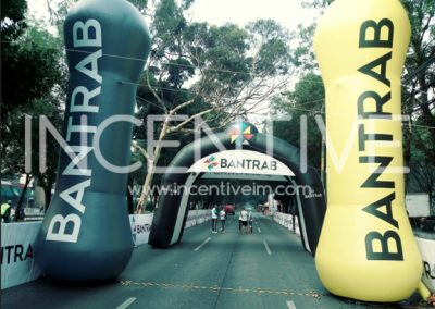 CILINDROS Y TUNEL INFLABLE BANTRAB - INCENTIVE INFLABLES