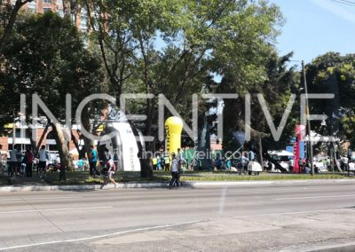 CILINDROS Y TUNEL INFLABLE BANTRAB. - INCENTIVE INFLABLES