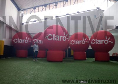 ESFERRAS DE 3 MTS DE ALTO CLARO PN - INCENTIVE