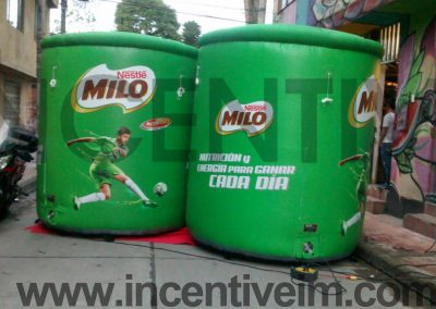 REPLICAS INFLABLES MILO - INCENTIVE
