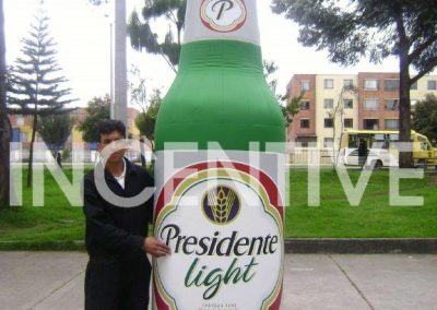 Replica Botella Presidente Light (3) INCENTIVE